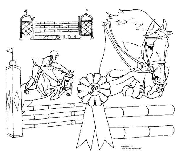 ausmalbilder pferde turnier ausmalbilder. Black Bedroom Furniture Sets. Home Design Ideas